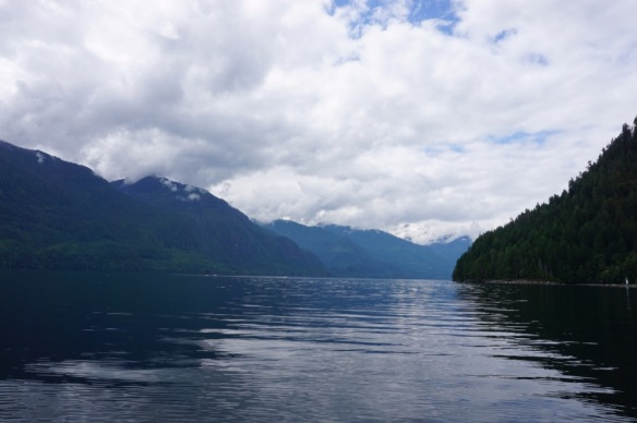 Majestic view of Princess Louisa Inlet